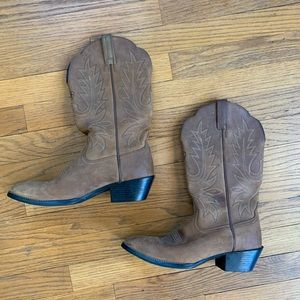 Ariat Nubuck Leather Western Boots